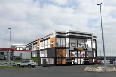 Parkovací dům 03 - vizu